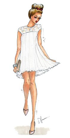 illustration by anum tariq be inspirational mz manerz being well dressed is a beautiful form 5027143 Fashion Illustration Sketches, Illustration Mode, Fashion Design Sketches, Fashion Drawings, Foto Fashion, Fashion Art, Girl Fashion, Classy Fashion, Dress Fashion