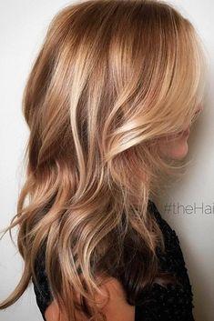 Cool Blonde Hair, Warm Blonde, Wavy Hair, Beige Blonde Balayage, Balayage Hair, Easy Hairstyle Video, Strawberry Blonde Hair Color, Honey Hair, Fall Hair Colors