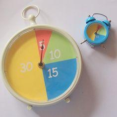 Zelf maken: de minutenklok beelddenken planning