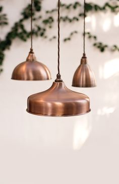 Our beautiful new #Heritage #Copper finish. Available in three #pendants