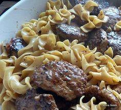 Frikadeller Meat Patties with Sauce