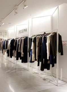 Retail Design | Shop Design | Fashion Store Interior Fashion Shops | Joseph Selfridges