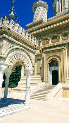 Romania. Monastery Curtea de Argeș #