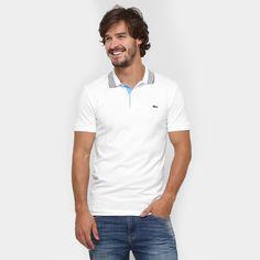 A Camisa Polo Lacoste sugere trajes com ares modernos para o trabalho e atividades casuais. Para um visual completo, sugerimos sapatênis e calça jeans de lavagem clara.