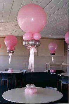 topiary balloon - Buscar con Google Balloon Table Centerpieces, Balloon Arrangements, Balloon Decorations, Birthday Party Decorations, Baby Shower Decorations, Balloon Topiary, Balloon Columns, Red Balloon, Large Balloons
