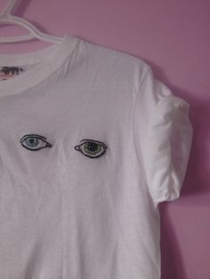 David Bowie's Eyes embroidered tee