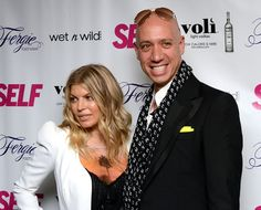 Robert Verdi & Fergie at SELF Magazine's July Issue Launch With Fergie