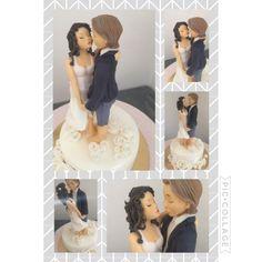 Sposi di zucchero #wedding caketopper