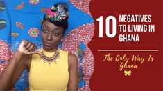 Welcome to The Only Way Is Ghana web-series: There are positives and negatives to living in any country. These are the 10 negatives to living in Ghana, not s. Ghana Travel, Ghana Style, The Only Way, Travel Guide, Fun Facts, The Past, African, Youtube, Travel Guide Books
