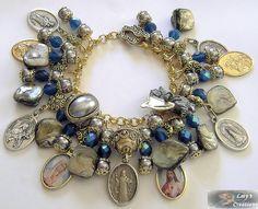 ❥ Handcrafted St. Benedict Relic bracelet. (Inspirational/flickr)
