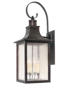 Avenues Lighting - Exterior - Wall Mount - Four Light Wall Mount Lantern - English Bronze