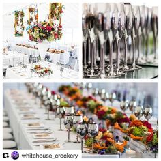 We're so excited for the third year running @whitehouse_crockery are Sponsoring our #TWADesignerShow at The Royal Hall in Harrogate on 9th October 12-4pm. Come and see four incredible Designers showcase a Spring Summer Autumn and Winter Wedding using their incredible #crockery #cutlery and #glassware. @blackeventfurniture will be providing as a Sponsor the stunning furniture and chairs. You have to visit @pamelladunn @ambienceharrogate @daisychainleeds and My Beautiful Country Wedding. Book…