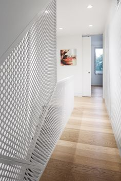 Gallery of Junction Shadow House / POST Architecture - 14 Tile Stairs, Metal Stairs, Modern Stairs, House Stairs, Staircase Interior Design, Railing Design, Interior Design Living Room, Interior And Exterior, Staircase Railings