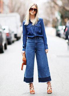 Novas tendencias para 2015: Dos modelos mais curtos aos um pouco mais longos, a bermuda/calça do momento – pantacourt