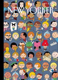 Artwork Ivan Brunetti This weeks The New Yorker Art Editor Françoise…