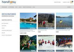 Handiway web. Web de experiencias de ocio adaptada a personas con discapacidad.