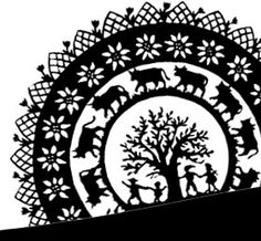 HHW decoupage Stencil Painting, Kirigami, Paper Cutting, Amazing Women, Decoupage, Stencils, Sculpture, Inspiration, Folk Art