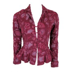 Natalie Chanin Clothing | NATALIE CHANIN Project Alabama Handmade floral jacket at 1stdibs