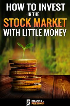 Did you think the stock market was only for people with lots of money? Think again! Even if you only have little money, investing in the stock market is the best thing you can do to increase your wealth. This is how to start, even with little money! #StockMarketTips