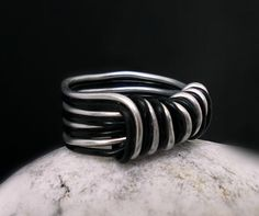 Hey, I found this really awesome Etsy listing at https://www.etsy.com/listing/185192508/wire-wrapped-ring-aluminum-unisex-ring