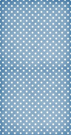 blue swiss dots