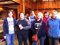Some of the staff and students from Spalding University that participated in the Global Day of Service by cleaning at the Wayside Christian Mission's Hotel Louisville.