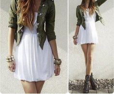 Rocking outfit!