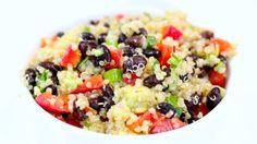 Quinoa Black Bean Salad - Clean&Delicious®