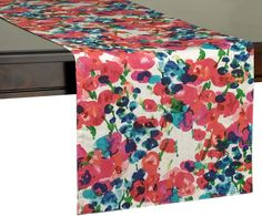 Kate spade new york Rosa Terrace Table Runner. The kate spade new york Rosa Terrace Table Runner. Featuring an inviting watercolor pattern, this table runner is perfect. Add a warm splash of watercolor to your table with the beautiful. Watercolor Design, Watercolor Pattern, Modern Table Runners, Kate Spade New York, Primitive Homes, Home Goods Decor, Bed Duvet Covers, Spring Day, Christmas Wishes