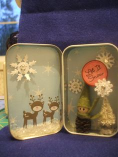 """I combined a couple of '""""pins"""" to make this altered Altoids tin"""
