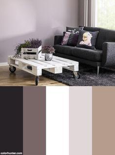 Pastell Färgkarta För Väggfärg Från Caparol (02) Color Scheme
