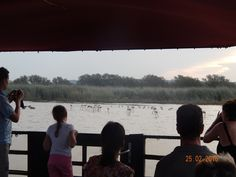 Our guests enjoying the view on board Shakabarge