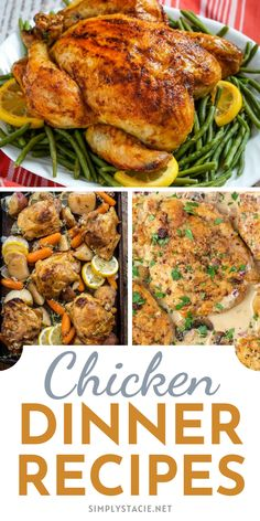 Delicious Chicken Recipes for Sunday Dinner - Try one of these mouthwatering recipes for your next family dinner.