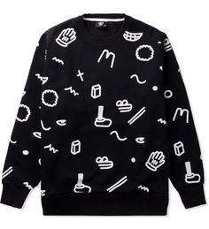 Lazy Oaf Bits N Dots Sweatshirt  18ceb1f3b0