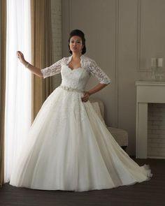 Vestidos de novia plus size, Â¡luce tus curvas!