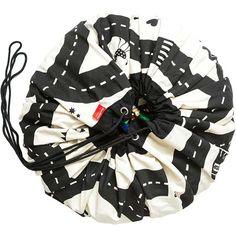 Play and Go speelmat en opbergzak #roadmap - autobaan #playandgo #storagebag #playcarpet #blackandwhite #lego #monochrome #toybag #littlethingz2