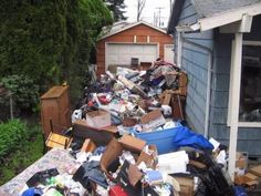 OMG, I've never seen this much trash left by a #tenant. A perfect example of why #landlords must inspect their #rentals monthly.