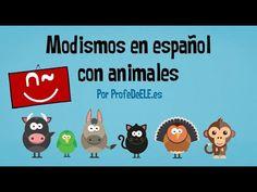 Expresiones en español con animales | ProfeDeELE