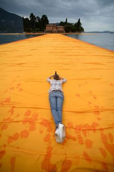 The Floating Piers by Christo