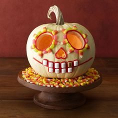 How sweet is this candy jack-o'-lantern?