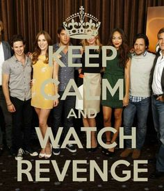 Revenge - I cannot believe how much I really love this show. It's action packed with just a touch of soap ;-)