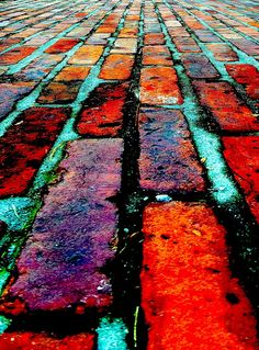 ~~Red brick path at the Morris-Jumel Mansion, where i was married Harlem, New York by stefhuddo~~