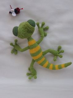 Amigurumi Crochet Pattern Giorgio the Gecko от IlDikko на Etsy
