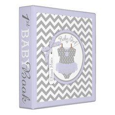 Baby Girl Tutu Memory Book Album Binder