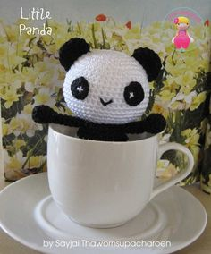 2000 Free Amigurumi Patterns: Little Panda: free amigurumi crochet bear pattern