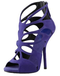 2014 new gz sexy fashion purple cutout sapatos open toes high heels sexy ladies shoes summer woman sandals shoes sandalias $47.00