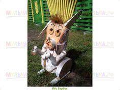 Картинки по запросу скульптуры из березовых чурбаков