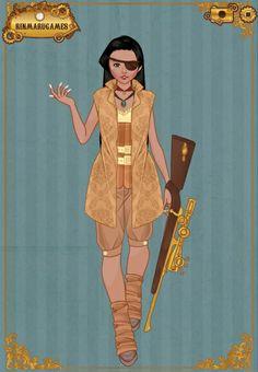 Steam Punk - Pocahontas - #SommerTime #Disney #Princess