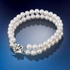 Newbridge Grace Kelly Two Strand Bracelet €55 at www.tierneysgifts.com