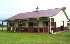 horse barn ideas | horse barns with anywhere from 2-60 stalls.Our largest horse barn ...